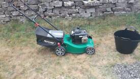 Petrol lawnmower, qualcast briggs&stratton(reduced