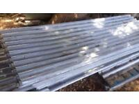 Used corrugated roof sheets 100s.