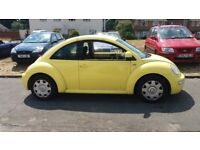 YELLOW 1.6 BEETLE NEW MOT