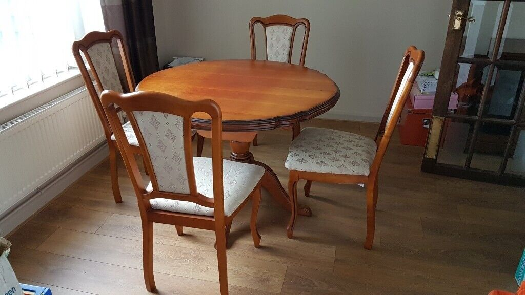 Surprising John Coyle Table And 4 Chairs In Swansea Gumtree Bralicious Painted Fabric Chair Ideas Braliciousco