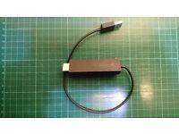 Microsoft Wireless Display Adapter CGA4-00003 Model 1628 HDMI USB Powered