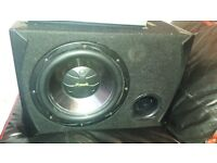 Subwoofer and AMP(1000)
