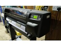 DesignJet 1050C Fully Working but Print Needs Flushing