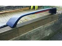 Subaru impreza turbo mid level spoiler blue wrx