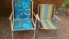 Garden Chairs - retro x 4