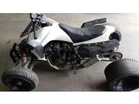 250cc jinling quad ( 600cc bandit engine fitted)