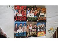 The A-Team: 1-5 Series 1 2 3 4 5 Box Set DVD & A TEAM FILM
