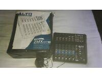 Alto zephyr zmx 122 fx 8 channel mixer