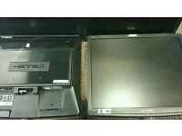 4 hanns-G Screens job lot