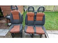 Ducato, Relay, Boxer front seats