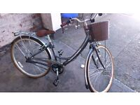 """lovely quality used 16 inch viking ladies bike..""""like new"""" with basket"""