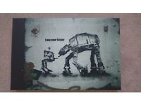 Banksy box print - I am your Father, Star Wars