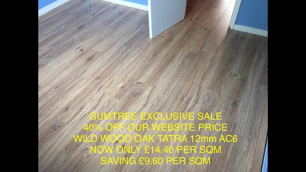 Laminate Floor Tatra Oak 12mm Ac6 Commercial Quality