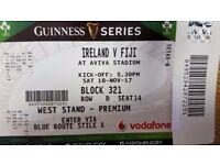 Ireland vs Fiji Premium ticket