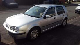 Mk4 golf 1.9TDI .One owner from new