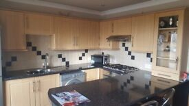 Fitted kitchen units ( used )