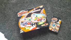 Roary the racing the car jigsaw and card game