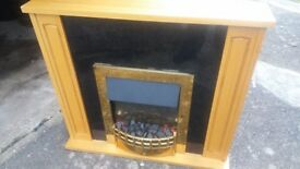 Dimplex BRM20LE 2kW electric fireplace with surround.