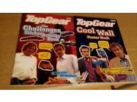 Top gear cool wall poster book & the challenges sticker activity book