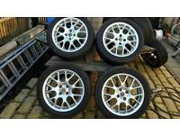 "BMW Mini/ Rover MG 16"" Alloy Wheels 4x100"