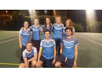 Spaces now available in Mixed Central London Netball league