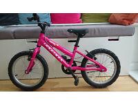 Girls Ridgeback melody 16 inch aluminium frame bike