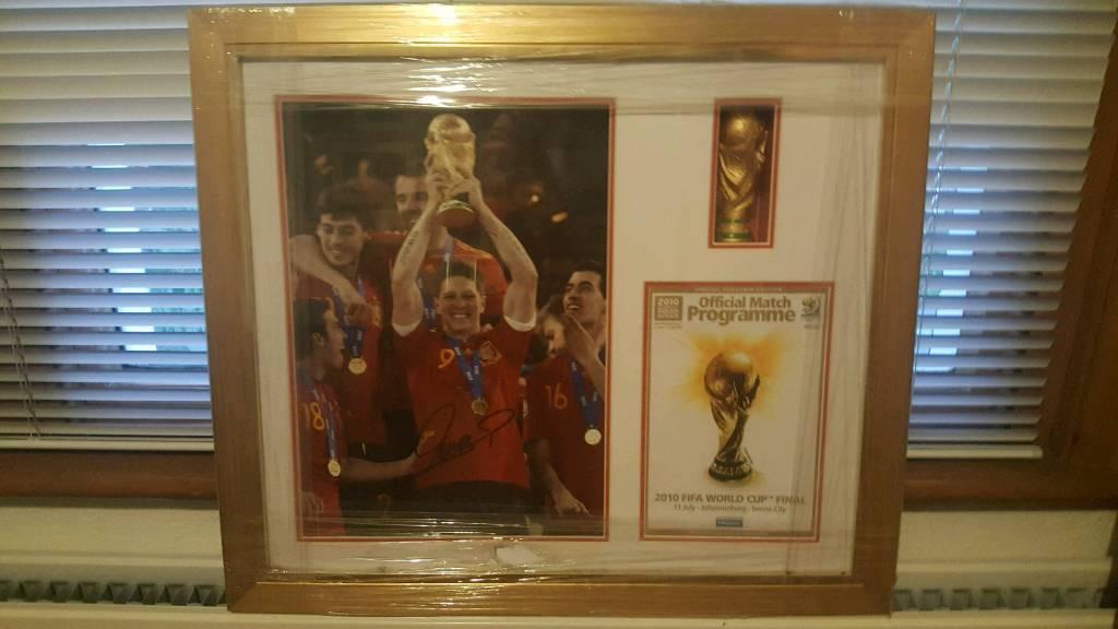 LFC Memorabilia print in frame