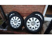 Citroen wheels 4x108 185 65 R15 £100