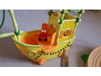 Crab boat from Jungle Junction TV series