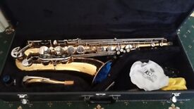 Earlham Tenor Sax + Accessories, Recently Serviced, Perfect Working Order