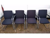 Guest Chair German Quality - Haworth Comforto Cantilever Visitor