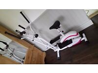 Davina Manual Cross Trainer, Perfect Condition, Fully Assembled, Collect Today!