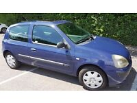 2003 Renault Clio 3dr. Excellent Runabout