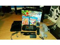 Nintendo Wii u premium pack with Mario kart and two other games
