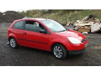 ford fiesta firefly 1.2 MOT 31st july 129k excellent runner
