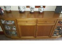Dining Table and Chairs, Side Board and TV cabinet