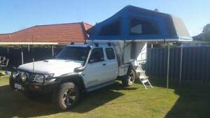 2005 Nissan Patrol GU ST Ute Modified with Slide On Camper Beeliar Cockburn Area Preview