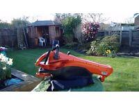 Flymo garden vac/blower and easi wheel.