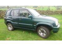 2001 suzuki grand vitara td maybe swap van car jeep 4x4