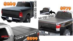 GRIZZLY TONNO COVERS!!! Tri-fold Tonneau Hard and Soft !! MEGA SALE ~~~~ $269 ONLY !!