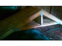 22 roof trusses