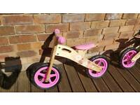 Balance bike toddler girls