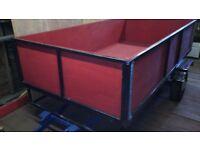 8x4 trailer £400