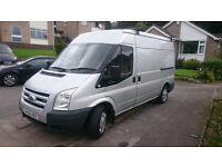 Ford Transit MWB medium roof, 2006, silver, Mk7