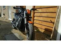 Gsxr1100 slabside .streetfighter
