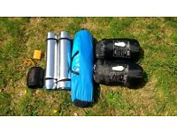 Instant camping kit for 2 persons