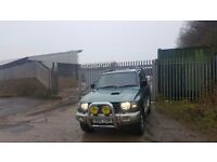 Good relible car just no longer needed has 10 month MOT no adviseries all 4x4 works as it should