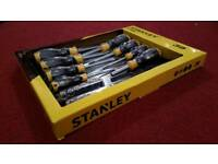 BRAND NEW Stanley 39 Piece Screwdriver Socket Tool Gift Box Set Chrome Vanadium STHT 62291-0.