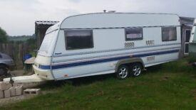 Caravan , wilk royale by tabbert , double axle 24 x8 ft