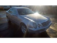 mercedes benz clk320 elegance automatic coupe r reg metallic silver
